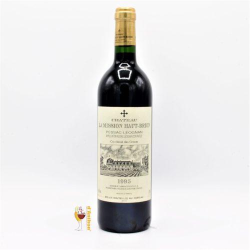 Vin Bouteille Rouge Bordeaux Pessac Leognan Cru Classe La Mission Haut Brion 1955 75cl