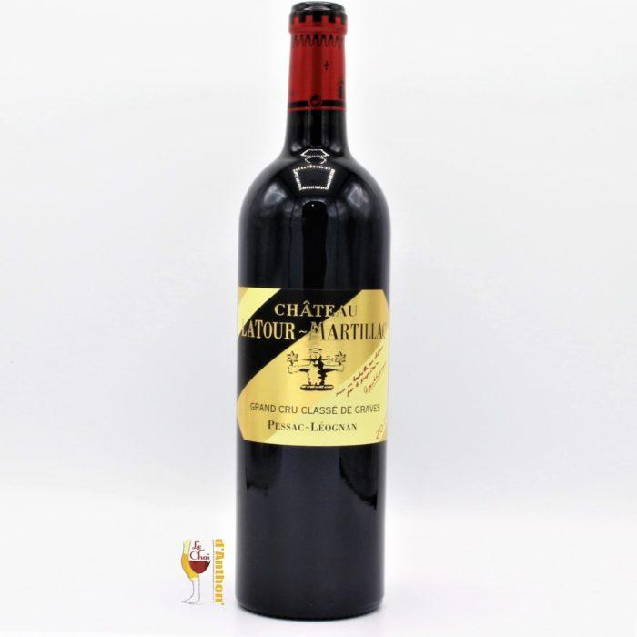 Vin Bouteille Rouge Bordeaux Pessac Leognan Cru Classe Latour Martillac 2016 75cl