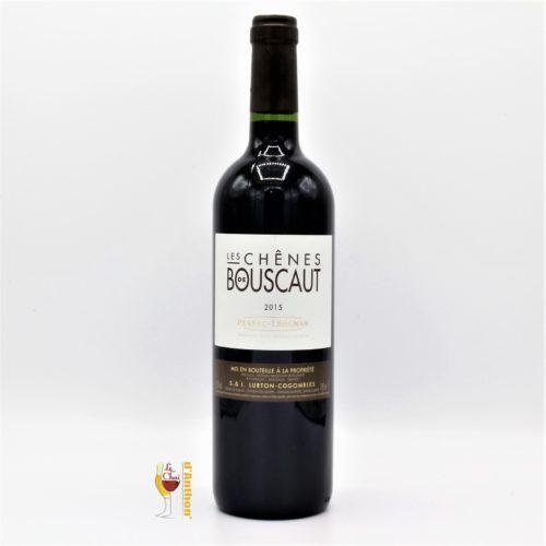 Vin Bouteille Rouge Bordeaux Pessac Leognan Les Chenes De Bouscault 2015 75cl