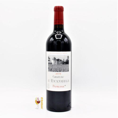 Vin Bouteille Rouge Bordeaux Pomerol Evangile 2015 75cl