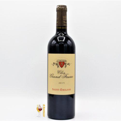 Vin Bouteille Rouge Bordeaux St Emilion Clos Grand Faurie 2015 75cl