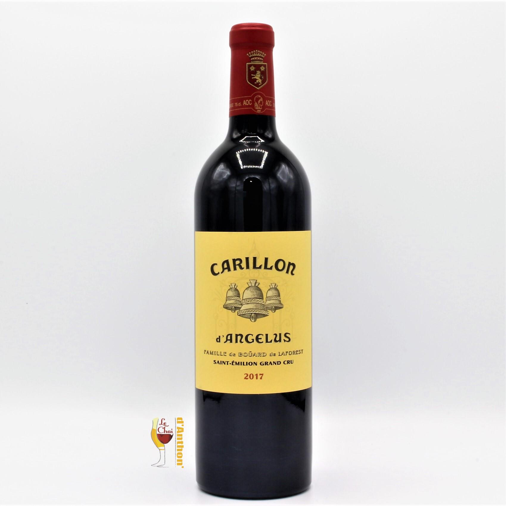 Vin Bouteille Rouge Bordeaux St Emilion Grand Cru Carillon Angelus 2017 75cl