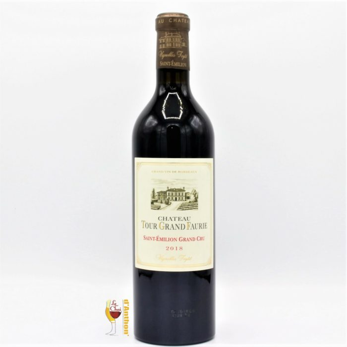Vin Bouteille Rouge Bordeaux St Emilion Grand Cru Tour Grand Faurie 2018 75cl