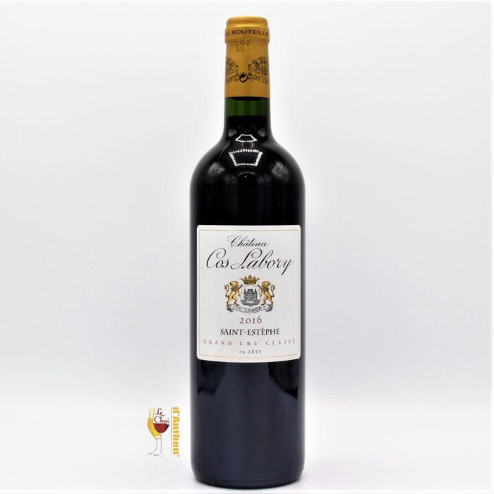 Vin Bouteille Rouge Bordeaux St Estephe 5eme Grand Cru Classe Cos Labory 2016 75cl