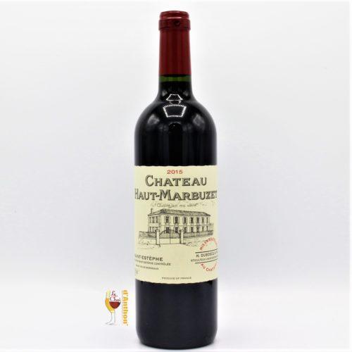 Vin Bouteille Rouge Bordeaux St Estephe Cru Bourgeois Haut Marbuzet 2015 75cl