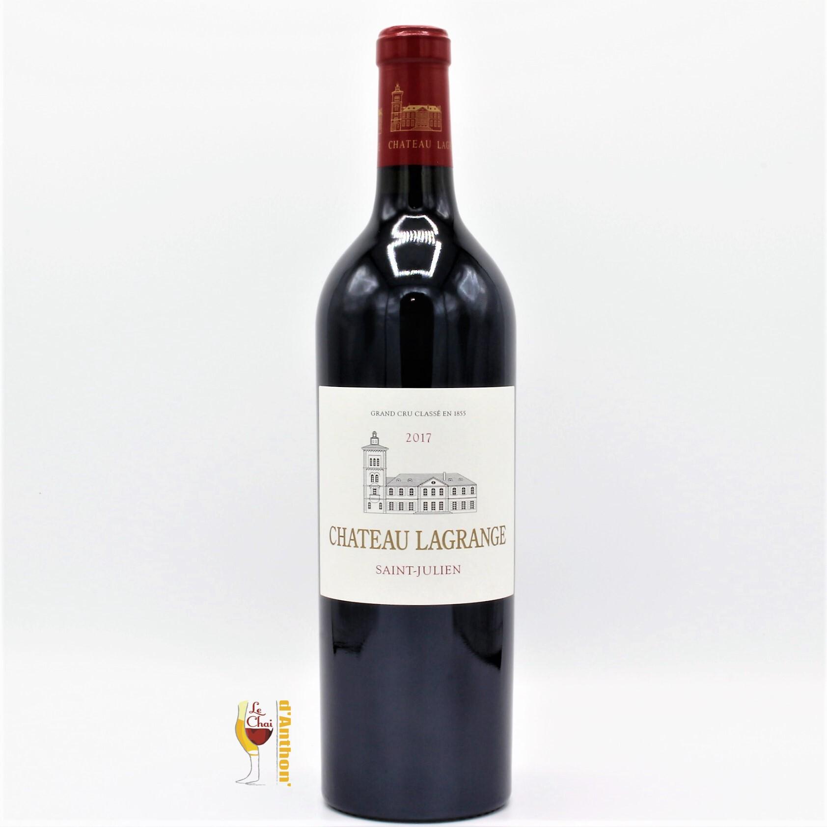 Vin Bouteille Rouge Bordeaux St Julien Lagrange 2017 75cl