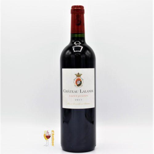 Vin Bouteille Rouge Bordeaux St Julien Lalande 2017 75cl