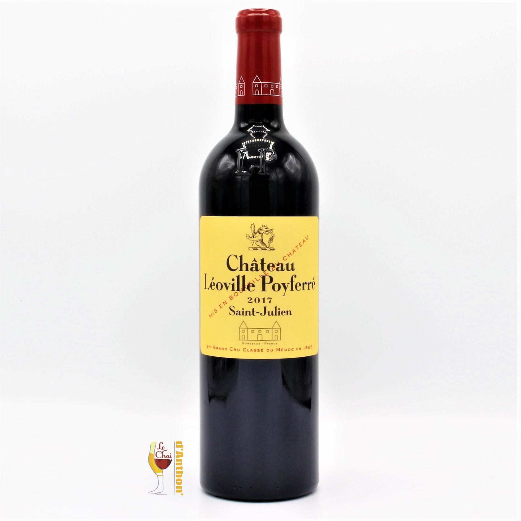 Vin Bouteille Rouge Bordeaux St Julien Leoville Poyferre 2017 75cl