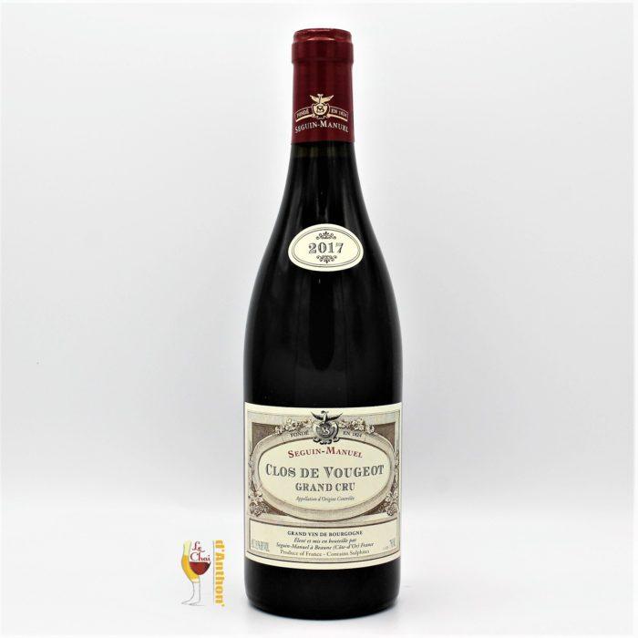 Vin Bouteille Rouge Bourgogne Clos Vougeot Seguin Manuel 2017 75cl