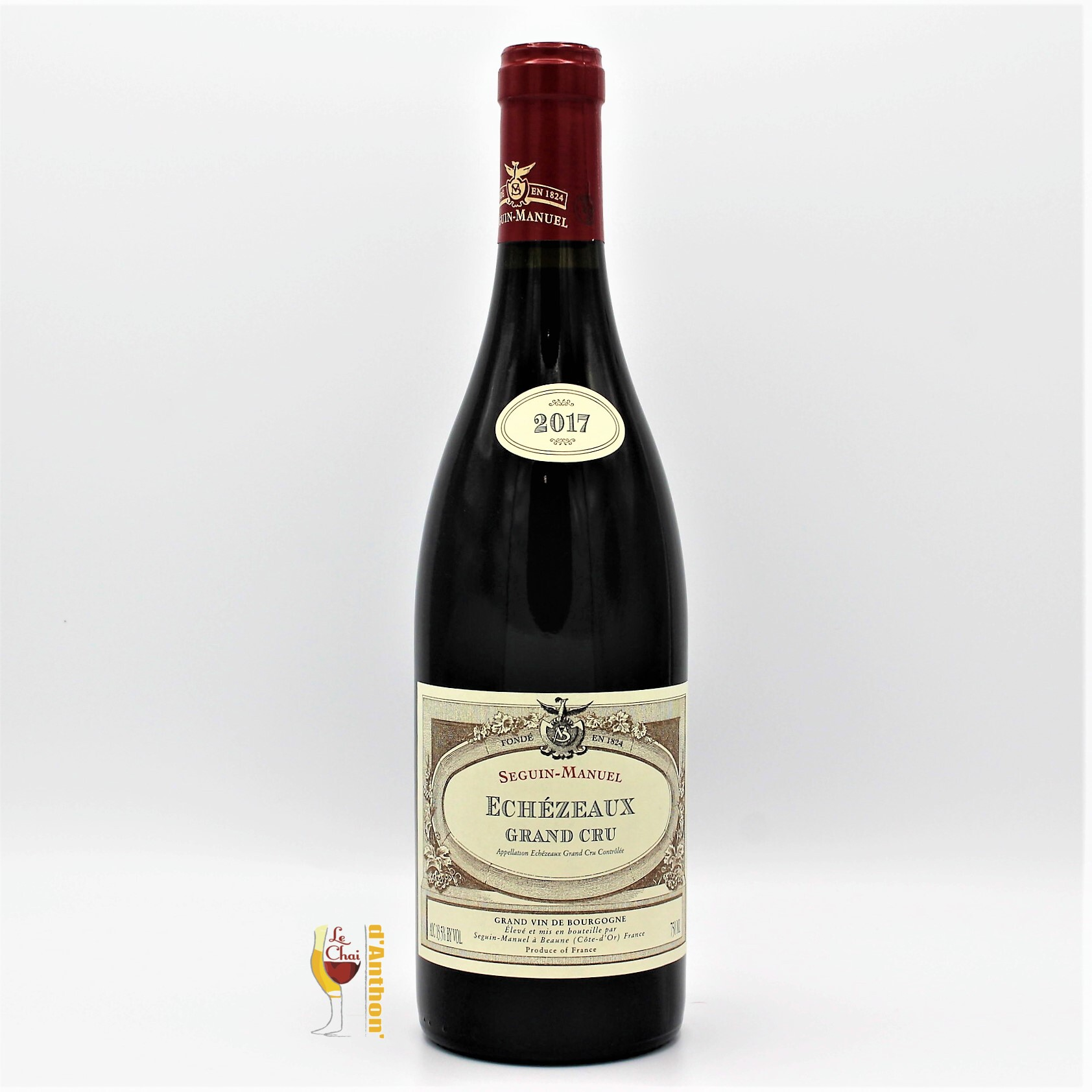 Vin Bouteille Rouge Bourgogne Echezeaux Seguin Manuel 2017 75cl