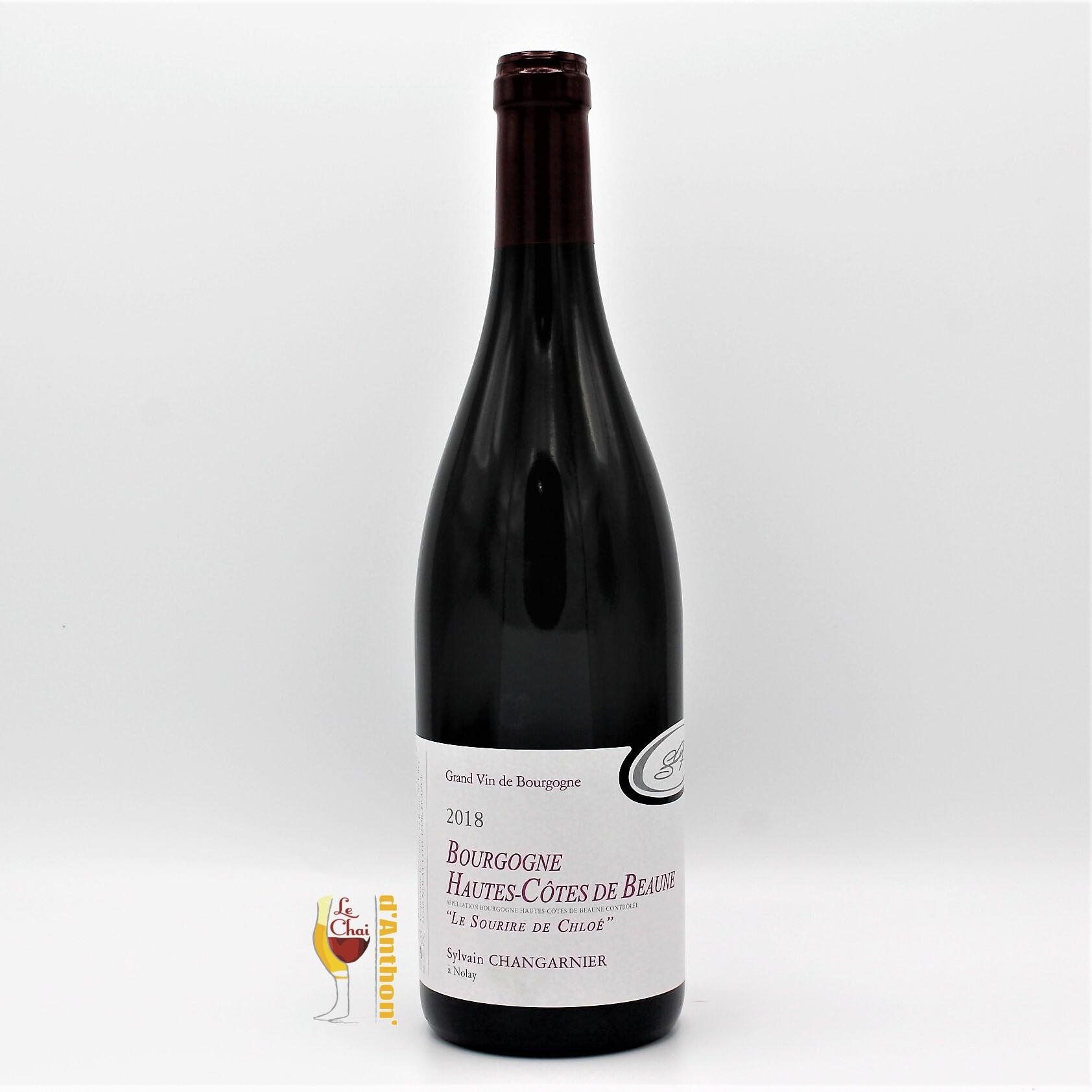 Vin Bouteille Rouge Bourgogne Hautes Cotes De Beaune Changarnier 75cl