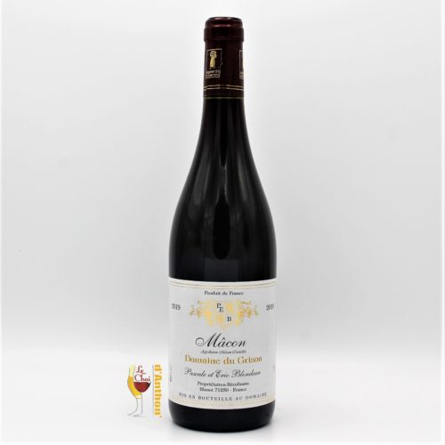 Vin Bouteille Rouge Bourgogne Macon Grison 75cl