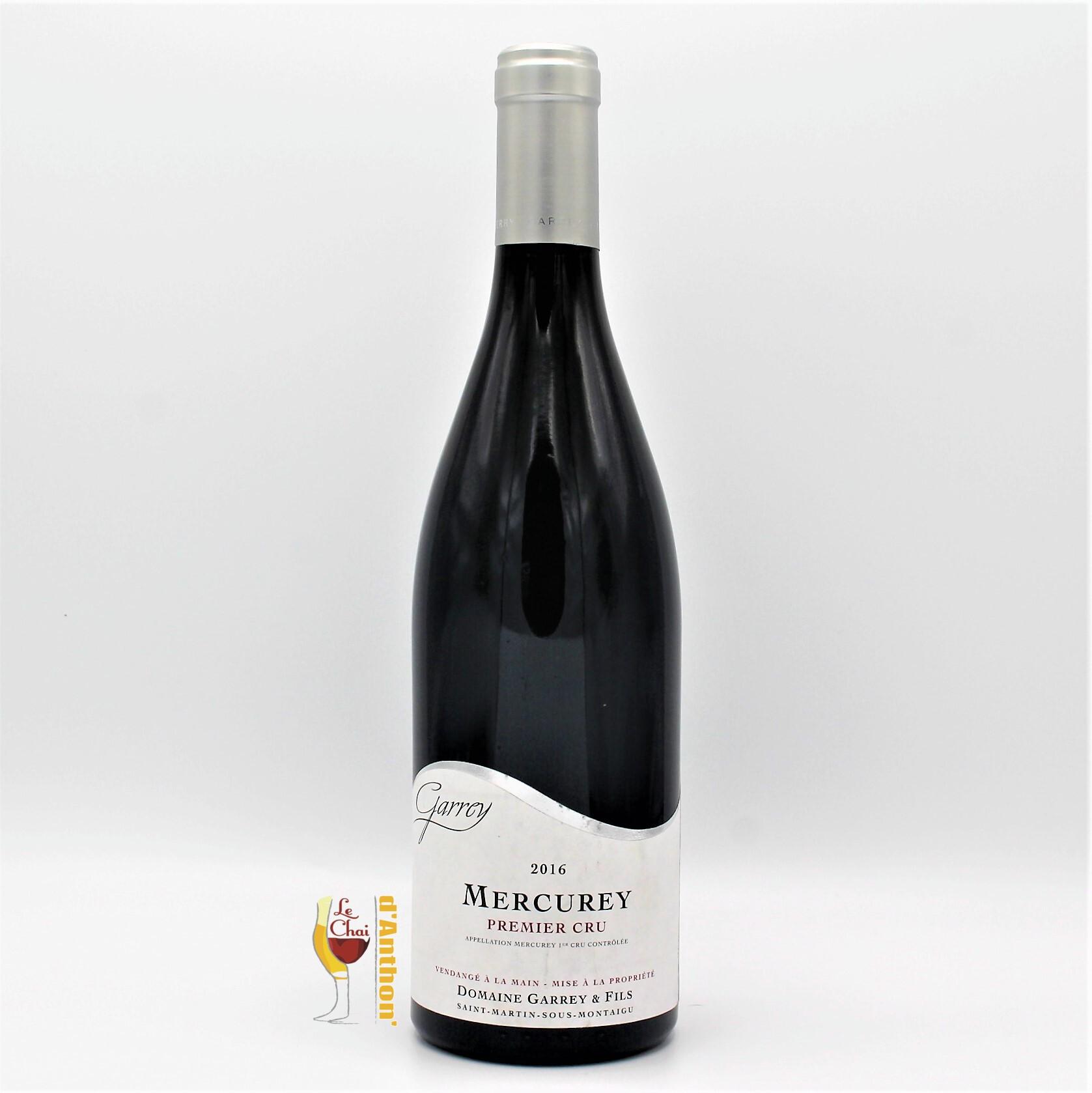 Vin Bouteille Rouge Bourgogne Mercurey 1er Cru Garey 75cl