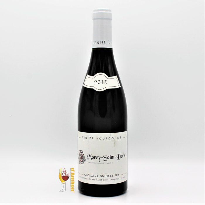 Vin Bouteille Rouge Bourgogne Morey Saint Denis Georges Lignier Et Fils 75cl