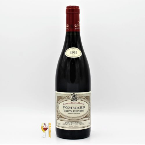 Vin Bouteille Rouge Bourgogne Pommard Epenots Seguin Manuel 2015 75cl