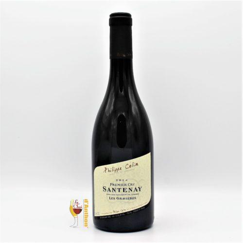 Vin Bouteille Rouge Bourgogne Santenay Colin 75cl