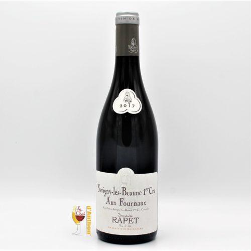 Vin Bouteille Rouge Bourgogne Savigny Les Beaune Aux Fournaux Rapet 75cl