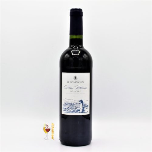 Vin Bouteille Rouge Languedoc Collioure Matisse Cellier Dominicain 75cl