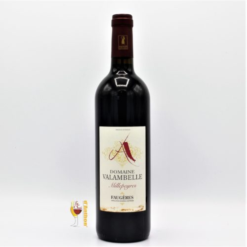 Vin Bouteille Rouge Languedoc Faugeres Millepeyres Valambelle 75cl