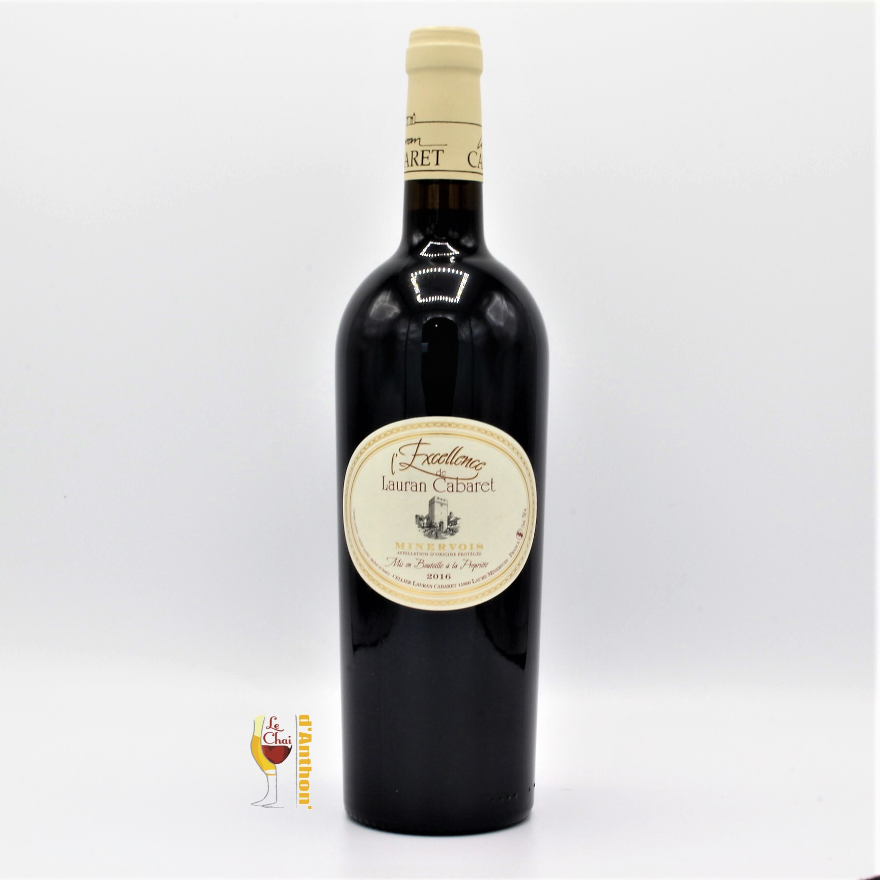 Vin Bouteille Rouge Languedoc Minervois Excellence Cellier Lauran Cabaret 75cl
