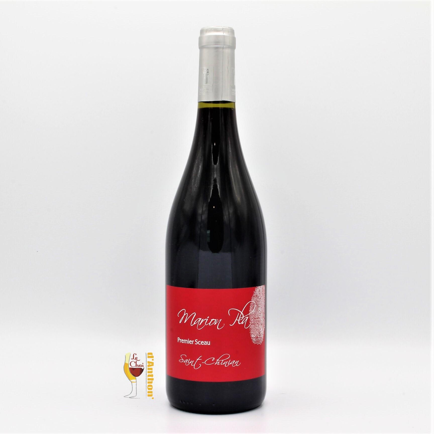 Vin Bouteille Rouge Languedoc Saint Chinian Tradition Marion Pla 75cl