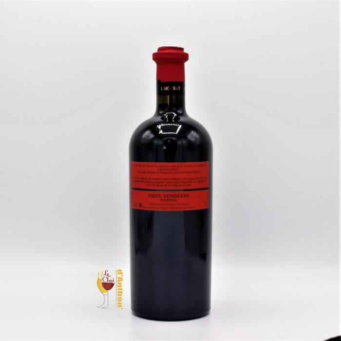 Vin Bouteille Rouge Loire Fiefs Vendeens Les Vignobles Mourat 75cl
