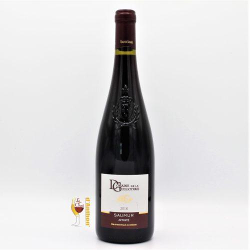 Vin Bouteille Rouge Loire Saumur Affinite Guilloterie 75cl