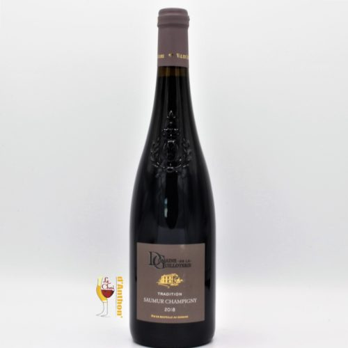 Vin Bouteille Rouge Loire Saumur Champigny Guilloterie 75cl