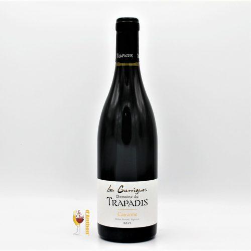 Vin Bouteille Rouge Rhone Cairanne Trapadis 75cl
