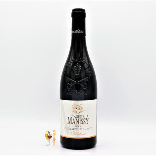 Vin Bouteille Rouge Rhone Chateauneuf Du Pape De Manissy 75cl