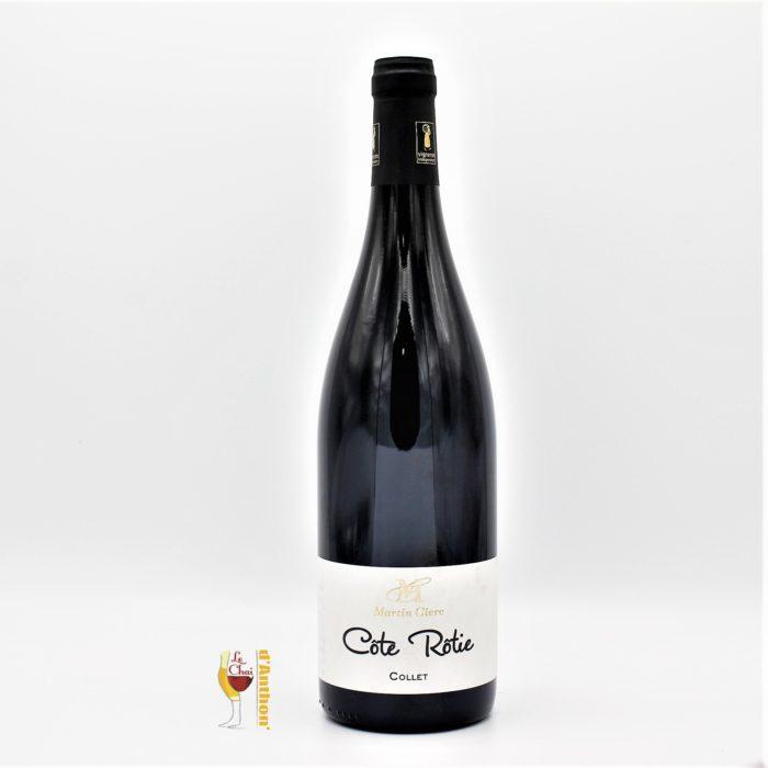 Vin Bouteille Rouge Rhone Cote Rotie Clerc 2016 75cl