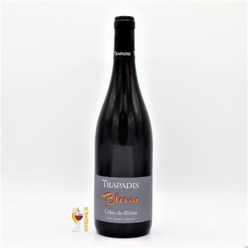 Vin Bouteille Rouge Rhone Cotes Du Blovac Trapadis 75cl