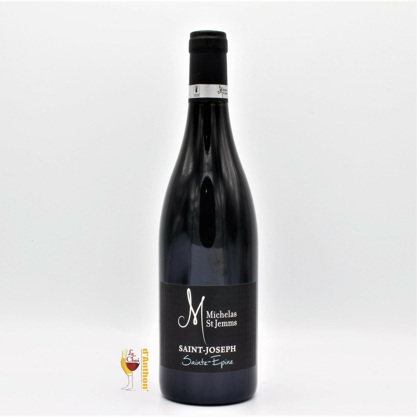 Vin Bouteille Rouge Rhone Saint Joseph Michelas Saint St Jemms 75cl
