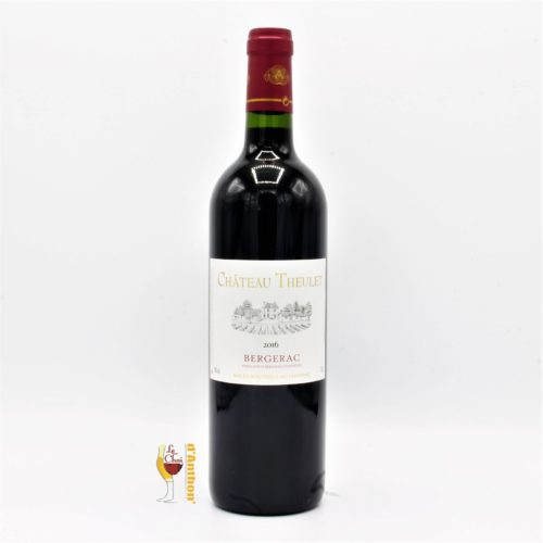 Vin Bouteille Rouge Sud Ouest Bergerac Theulet 75cl