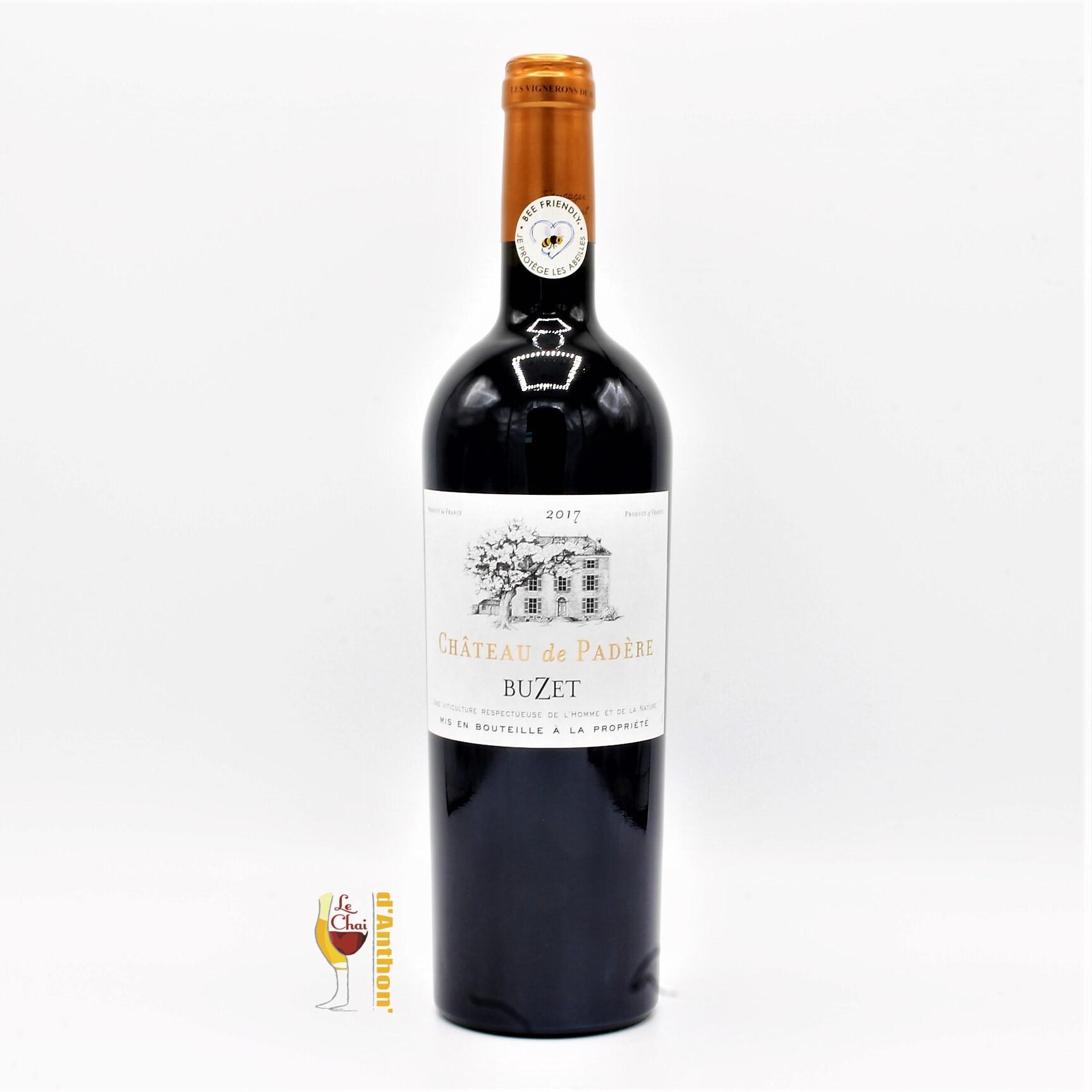 Vin Bouteille Rouge Sud Ouest Buzet Padere Vignerons 75cl
