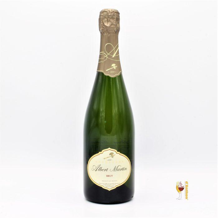 Vin Effervescent Bouteille Champagne Albert Martin 75cl