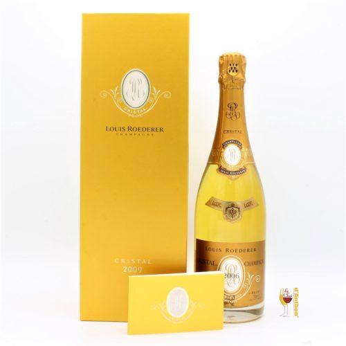 Vin Effervescent Bouteille Champagne Brut Cristal Roederer 2009 75cl