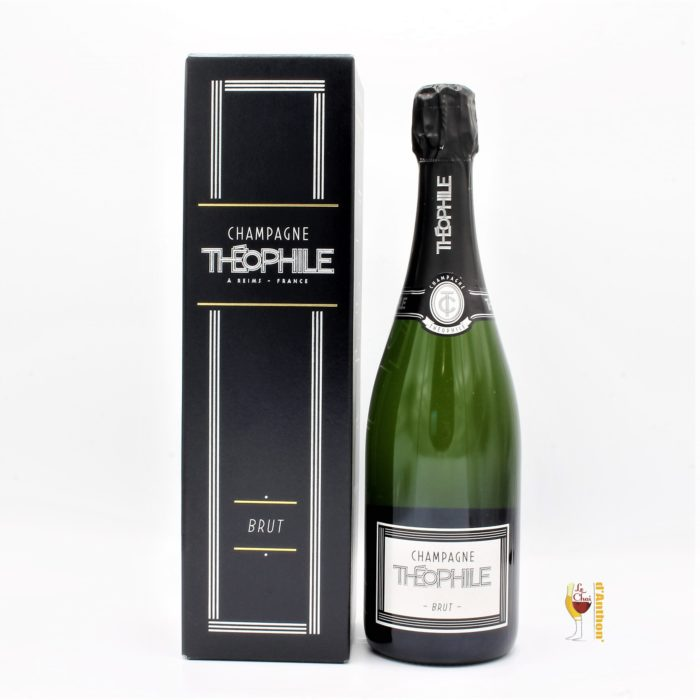 Vin Effervescent Bouteille Champagne Brut Theophile 75cl