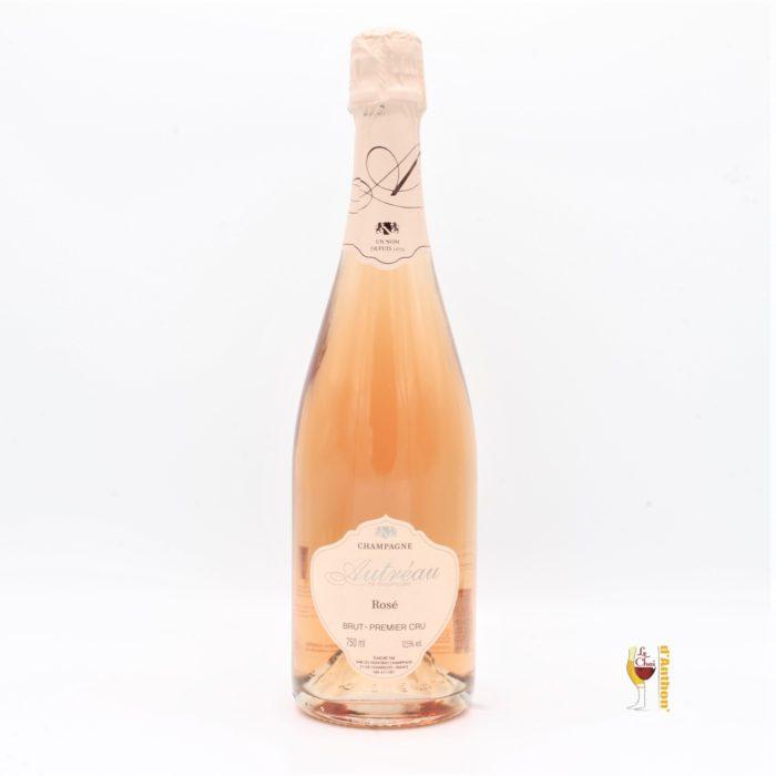 Vin Effervescent Bouteille Champagne Rose Autreau 75cl