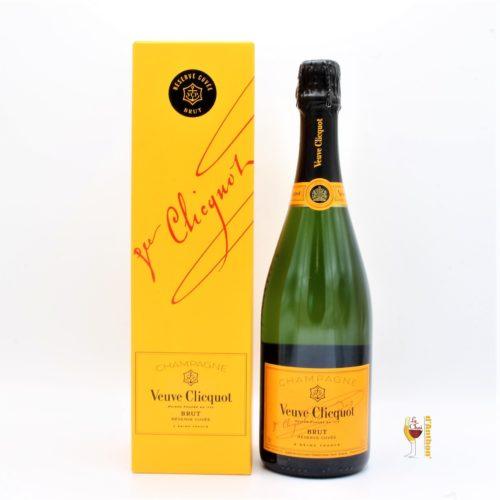 Vin Effervescent Bouteille Champagne Veuve Clicquot 75cl