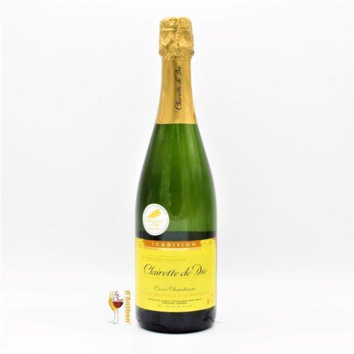 Vin Effervescent Bouteille Clairette Die Chamberan 75cl