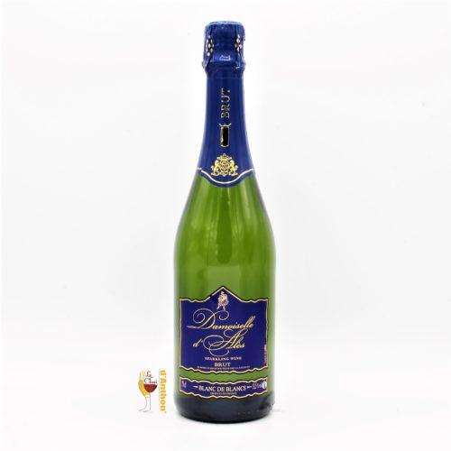 Vin Effervescent Bouteille Ve Brut Damoiselle Ales 75cl