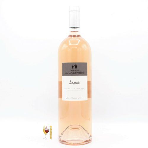 Vin Magnum Grand Format Rose Coteaux D Aix Provence Leonie Cadeniere 150cl
