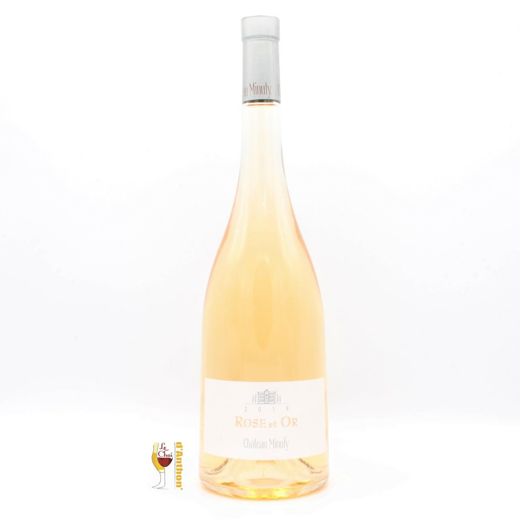 Vin Magnum Grand Format Rose Provence Or Minuty 150cl