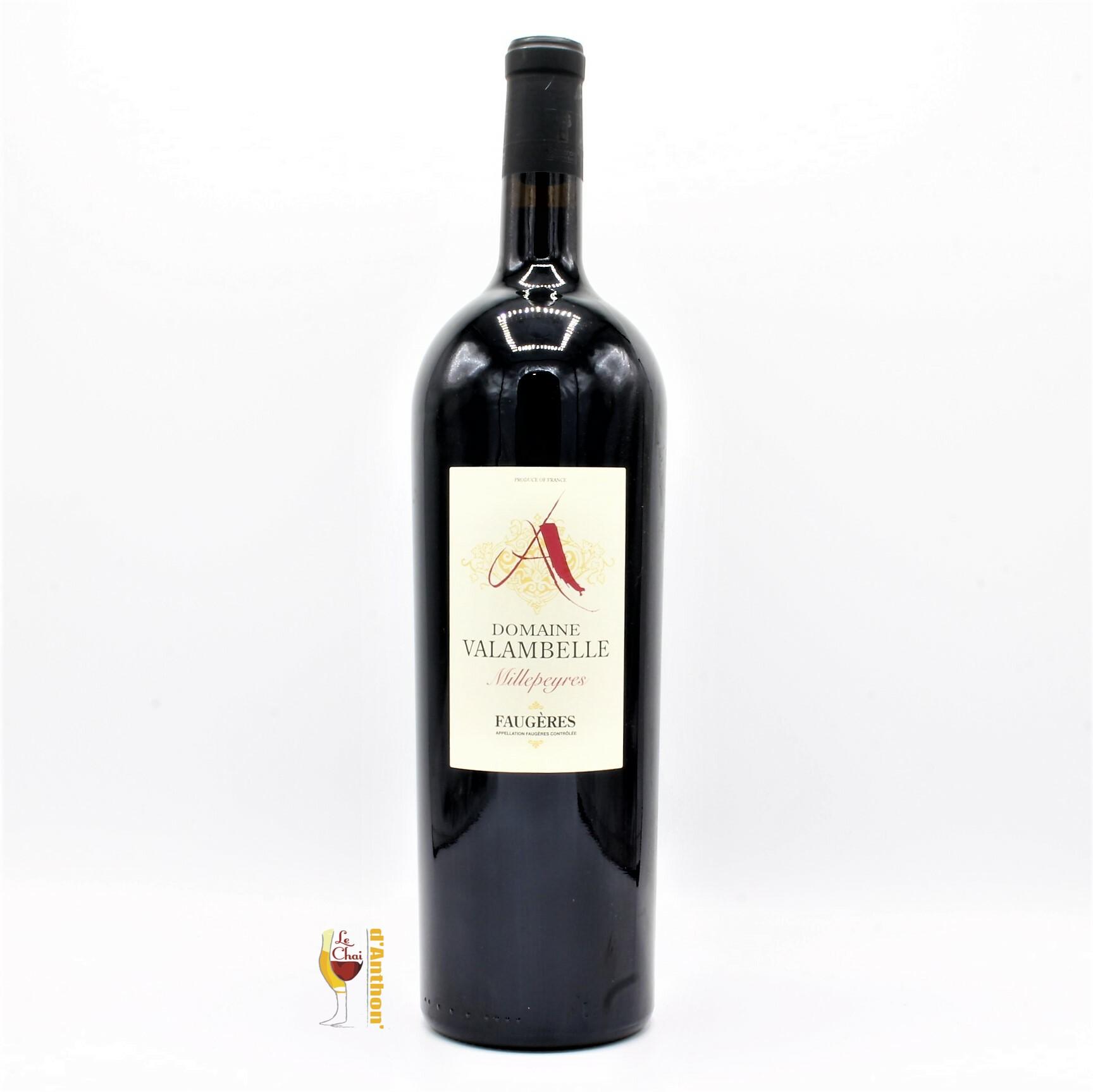 Vin Magnum Grand Format Rouge Faugeres Millepeyres Valambelle 150cl