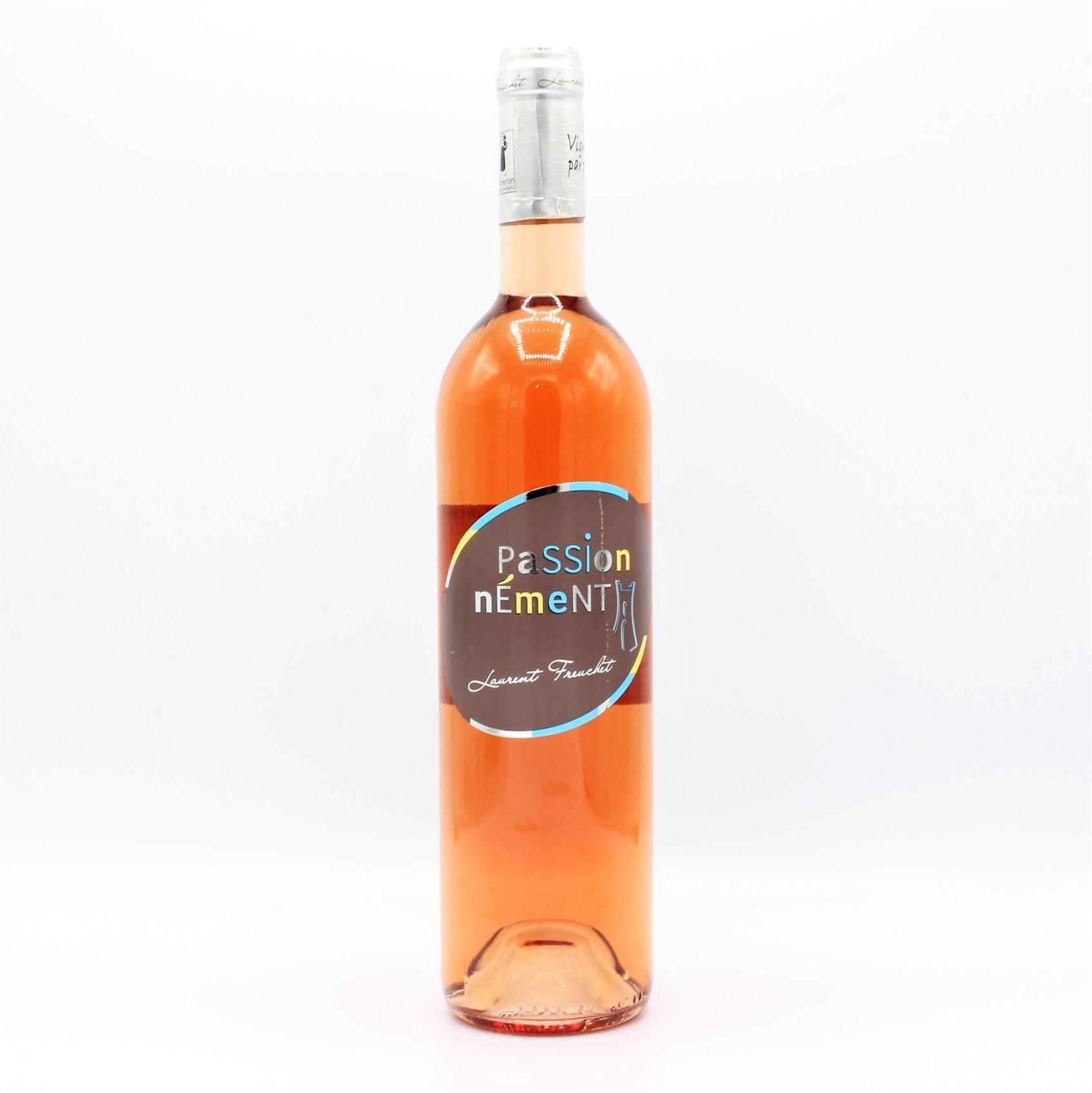 Vin Rose Bouteille Igp Val De Loire Passionnement 75cl