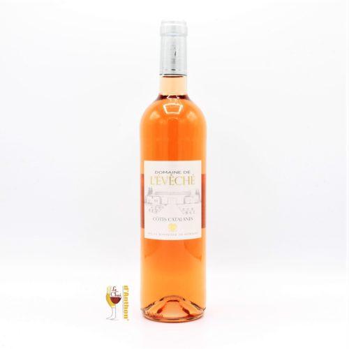 Vin Rose Bouteille Languedoc Cotes Catalanes De L Eveche 75cl