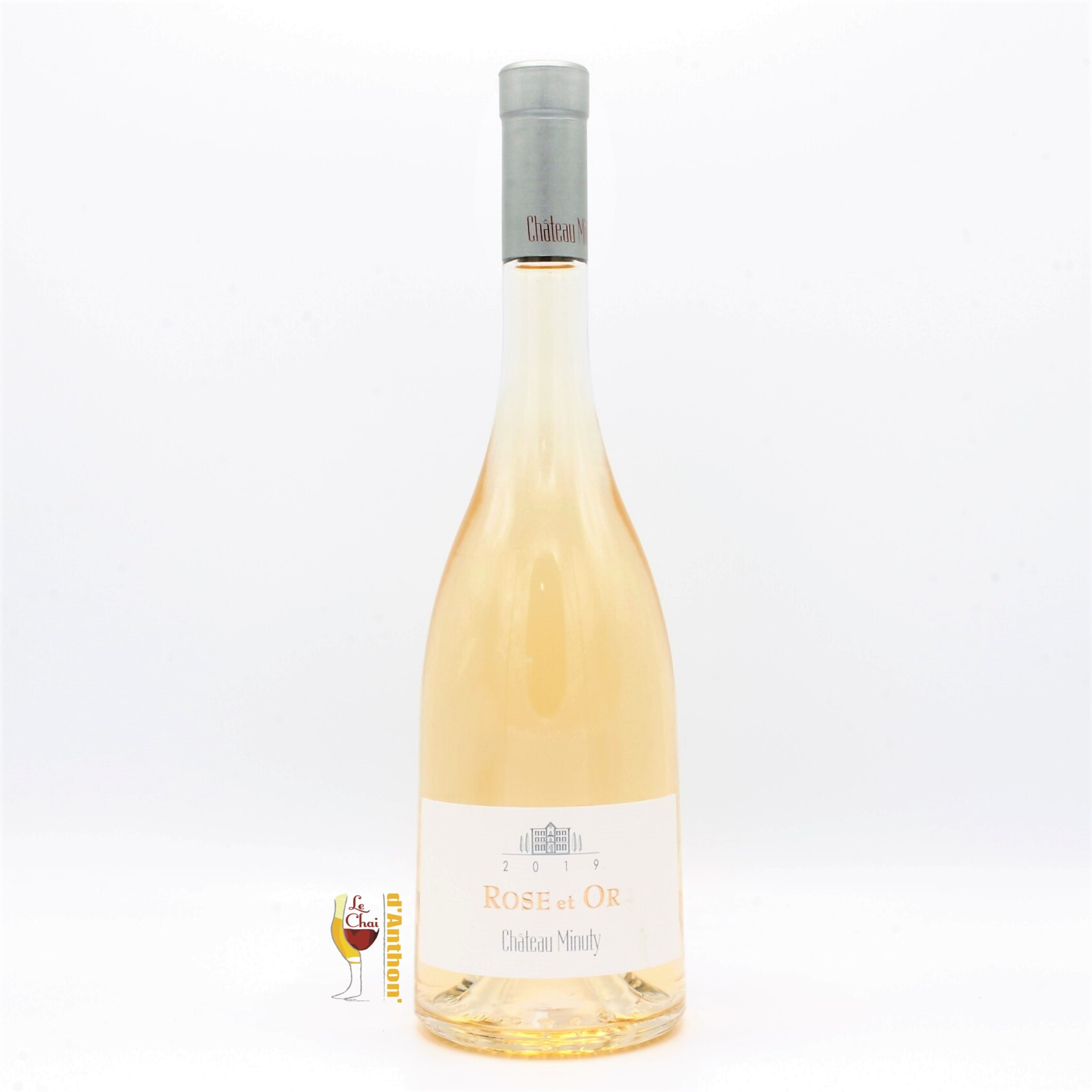 Vin Rose Bouteille Provence Or Minuty 75cl