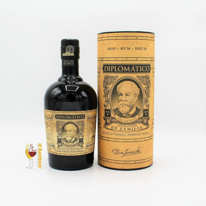 Le Chai D&1318.JPG039;Anthon Spiritueux Rhum Ambre Diplomatico Seleccion De Familia Venezuela 1318