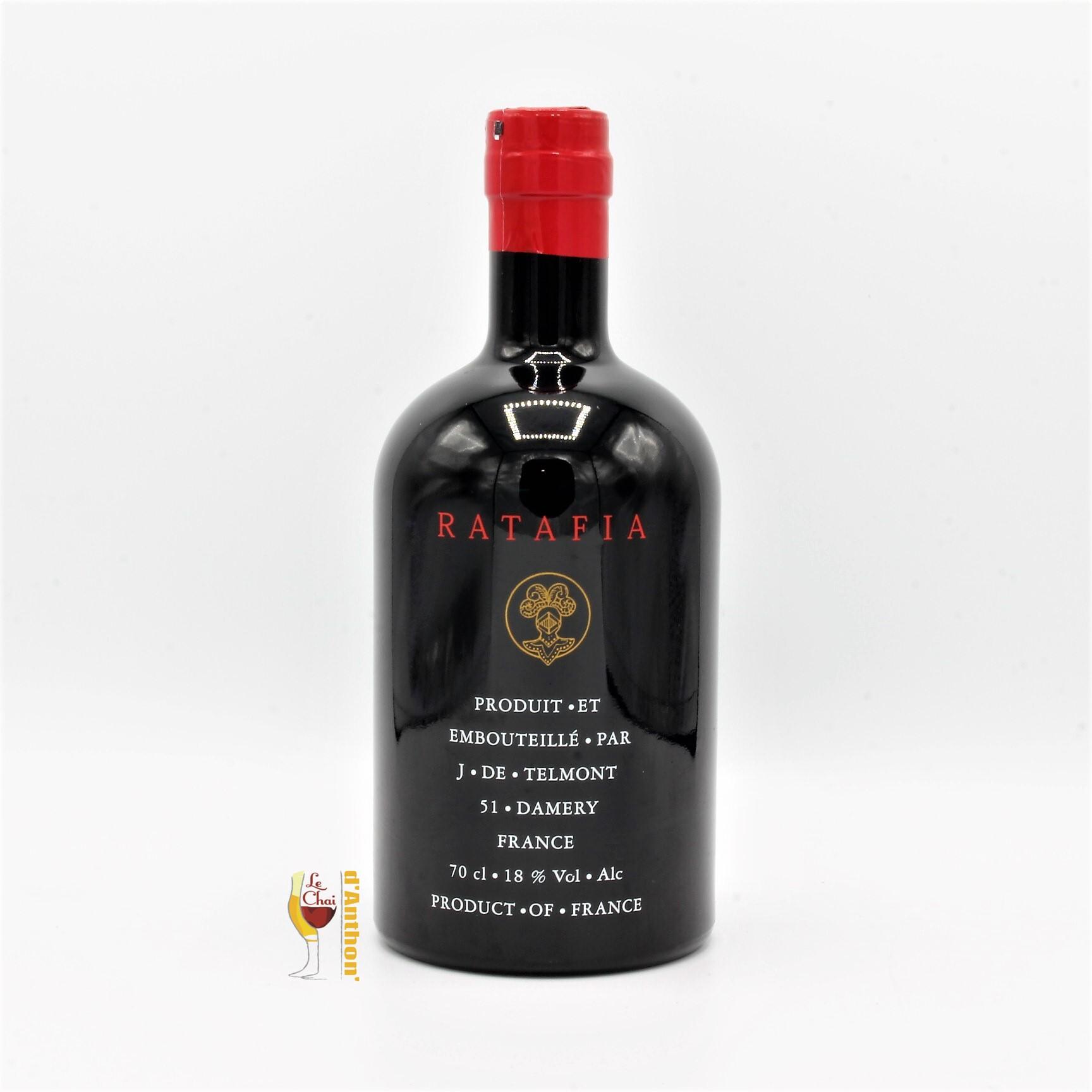 Aperitif Ratafia Fruit Champagne De Telmont 70cl